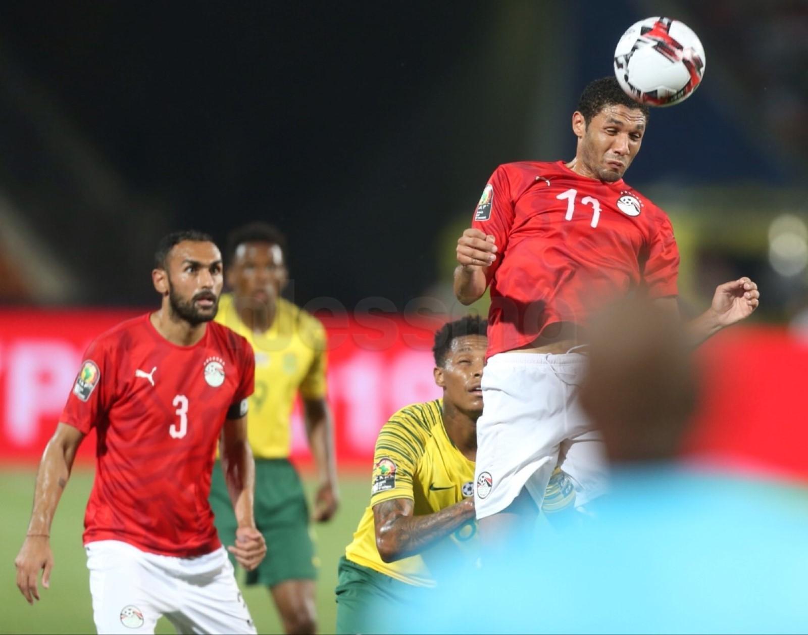 صور الشوط الثاني من مباراة المنتخب المصري وجنوب إفريقيا