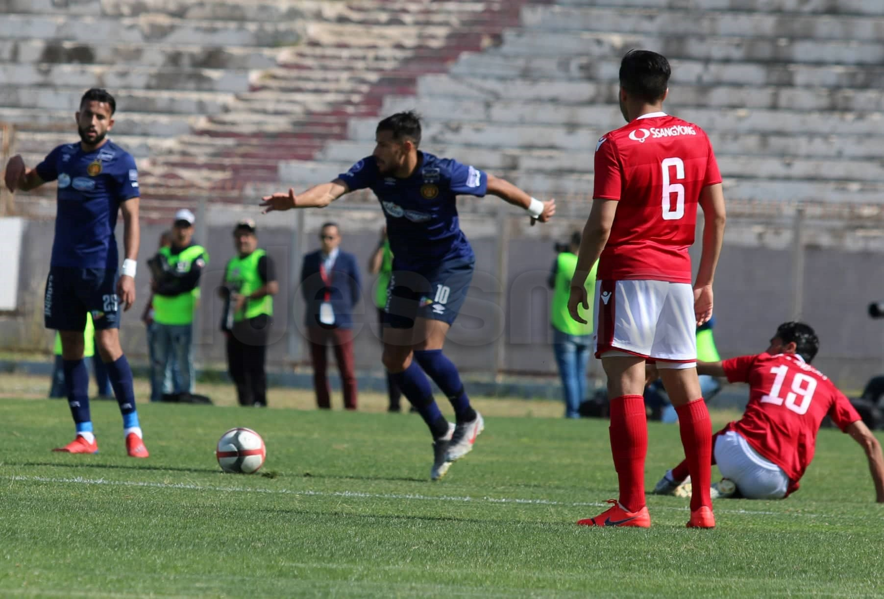 صور الشوط الاول من مباراة النجم الرياضي الساحلي والترجي الرياضي التونسي