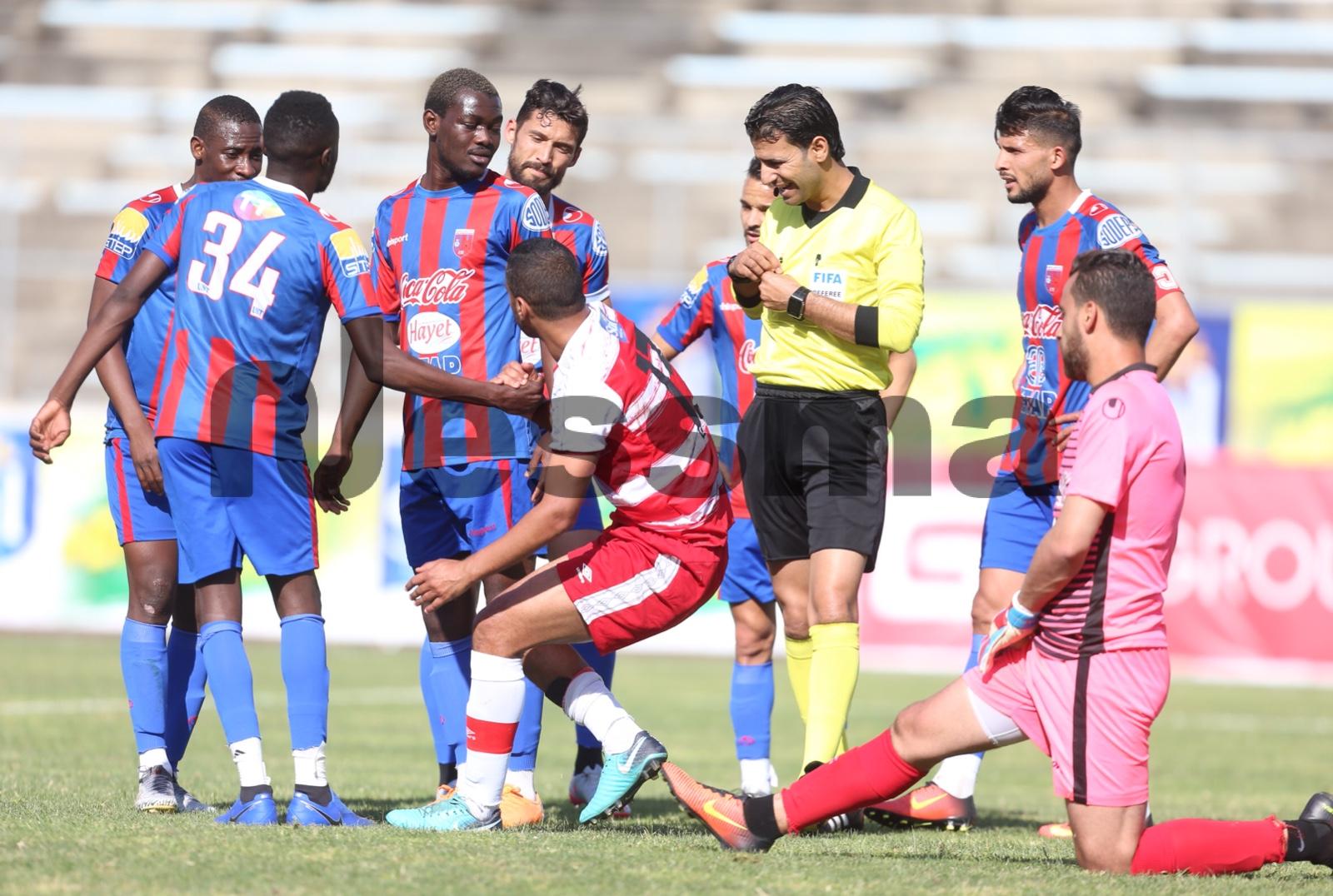 صور الشوط الثاني من مباراة النادي الإفريقي والإتحاد الرياضي بتطاوين