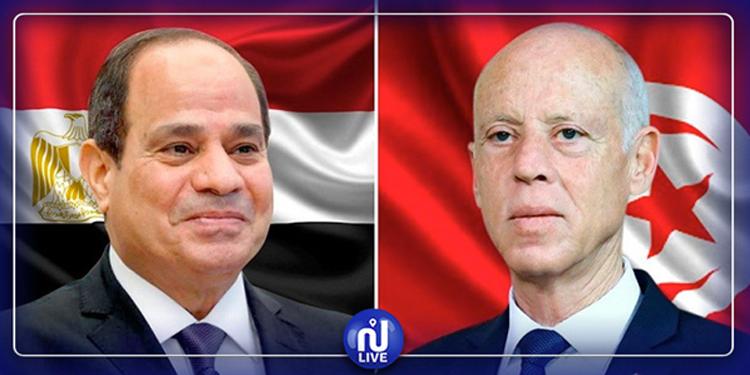 Kaïs Saïed et Abdel Fattah al-Sissi s'échangent les vœux pour Aid El Fitr