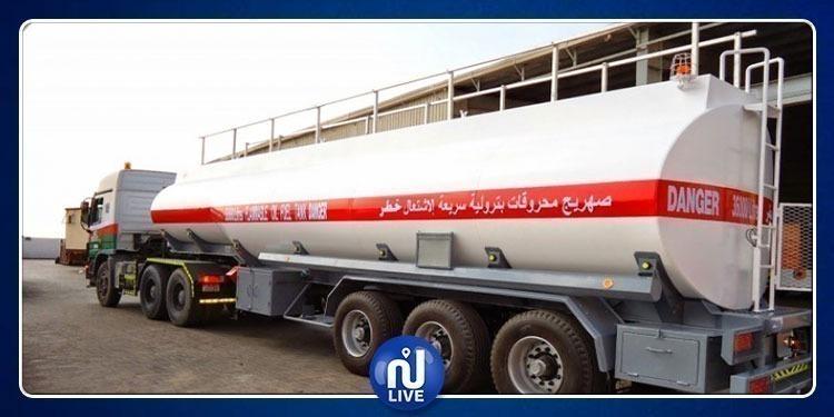 Des unités sécuritaires transfèrent du carburant, aux stations