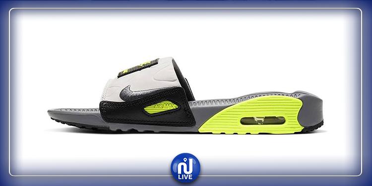 Nike donne à l'Air Max 90 Slide un relooking vert fluo
