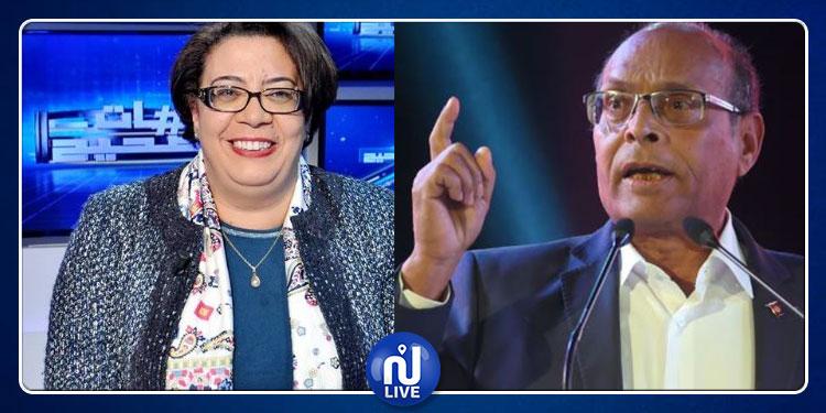 القضاء يصدر حكمه في القضية التي رفعها المرزوقي ضد سعيدة قراش