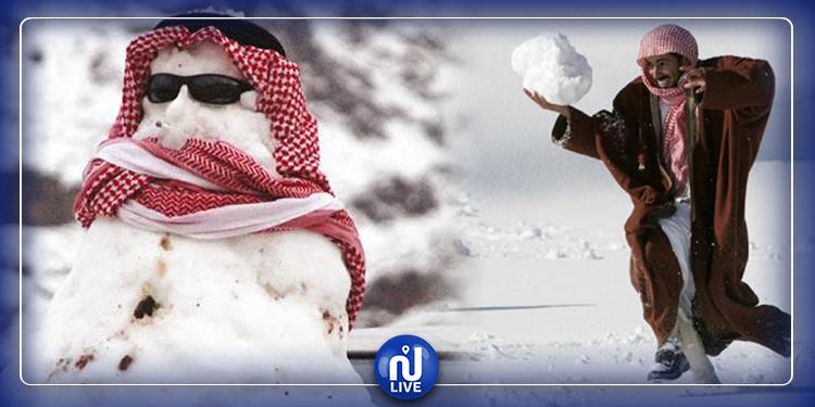 السعودية ''تتجمّد'': الحرارة تنزل إلى 6 تحت الصفر!