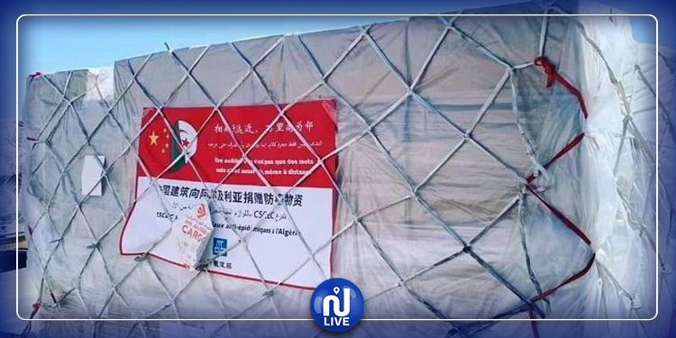 الجزائر تستلم 8.5 مليون كمامة من الصين
