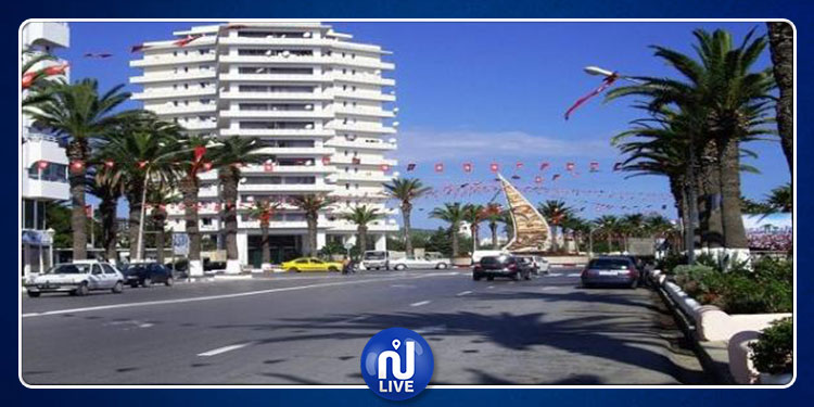 Bizerte: Effondrement d'une façade d'immeuble