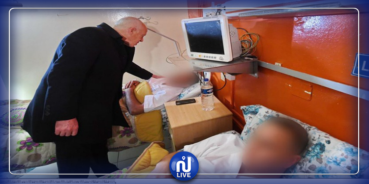 Kais Saïd s'enquiert de l'état de santé des blessés de l'attentat du Lac 2