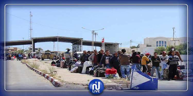 تطاوين: إجلاء 149 تونسيّا عالقا بليبيا