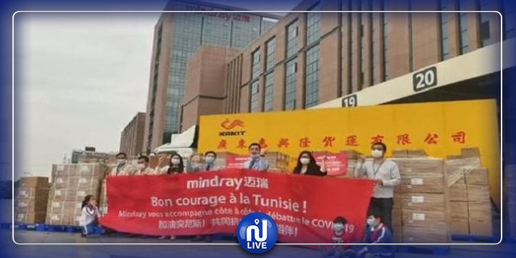الصين:  الطائرة العسكرية التونسية  تتم عملية شحن المواد الطبية