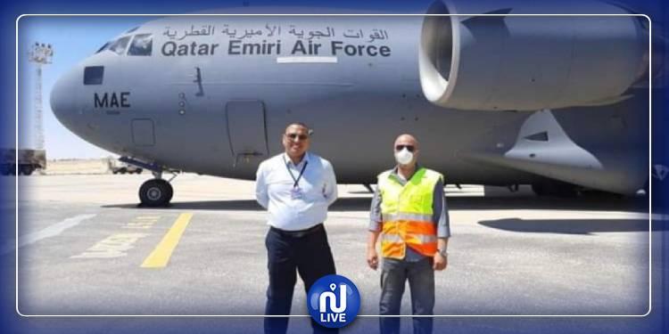 وصول المستشفى الميداني القطري إلى توزر