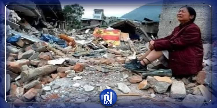 زلزال يضرب الصين