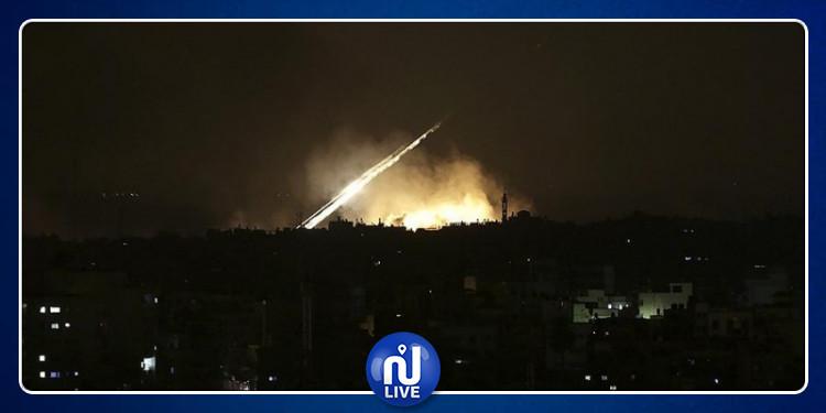 الكيان الصهيوني يقصف العاصمة السورية دمشق