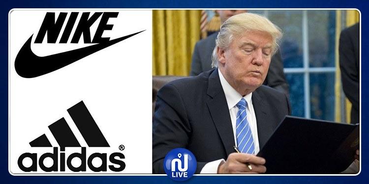 Taxes catastrophiques : Nike et Adidas écrivent à Trump