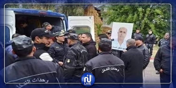بن عروس: جثمان الشهيد توفيق الميساوي يوارى الثرى بمقبرة فوشانة