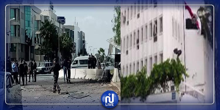 خاص: التقاط أشلاء للارهاببين من داخل المقر الجديد للسفارة المصرية بتونس