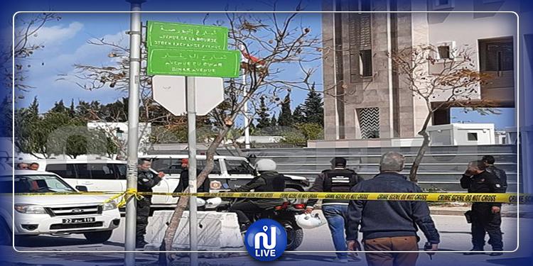 استعمال مادّة الـ '' TNT'' في القنبلة المستعملة في التفجير الإرهابي