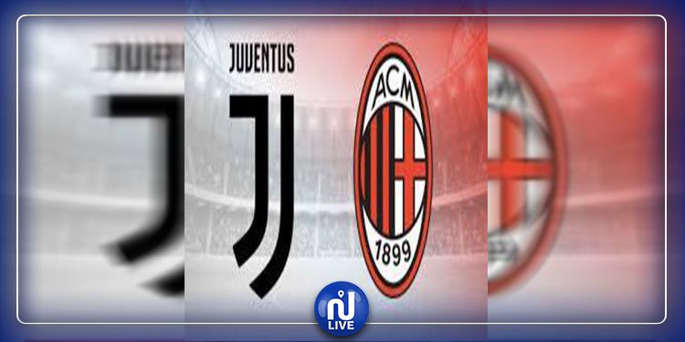 Corona : Le match Juventus Turin-Milan AC a été reporté