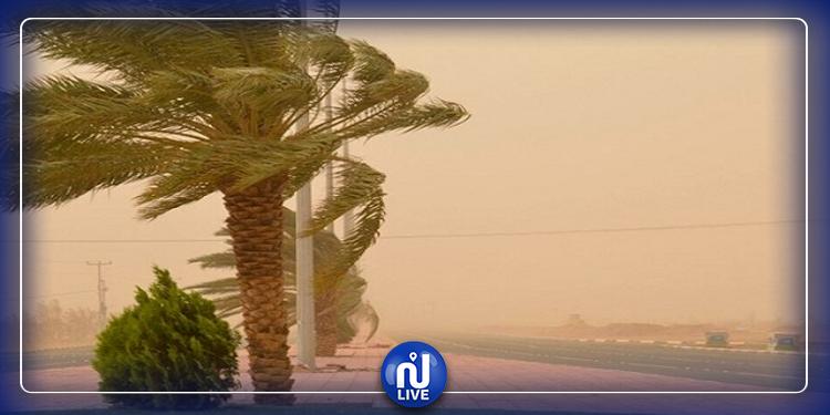 رياح ودواوير رملية: المعهد الوطني للرصد الجوي يحذّر