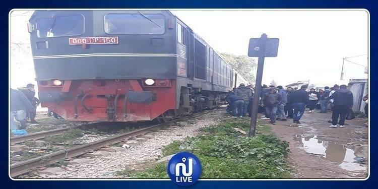 Manouba : Décès d'un piéton percuté par un train