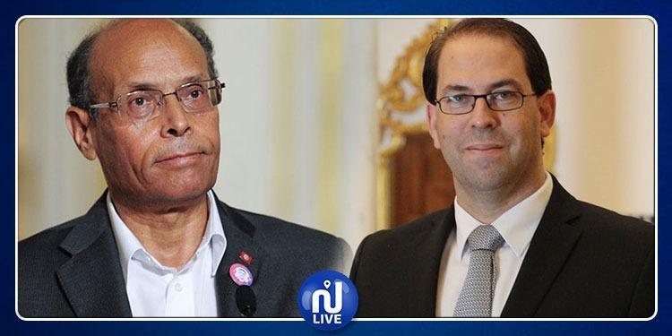 المرزوقي للشاهد: مرحبا بك في حراك تونس الإرادة